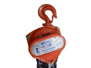 Pa lăng xích kéo tay Nitto 2 tấn