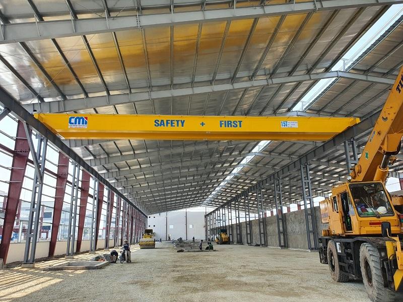 Cầu trục dầm đôi 15 tấn 23 mét