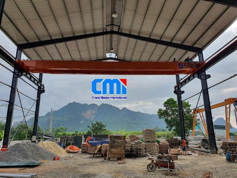 Cầu trục dầm đôi 5 tấn Hà Giang