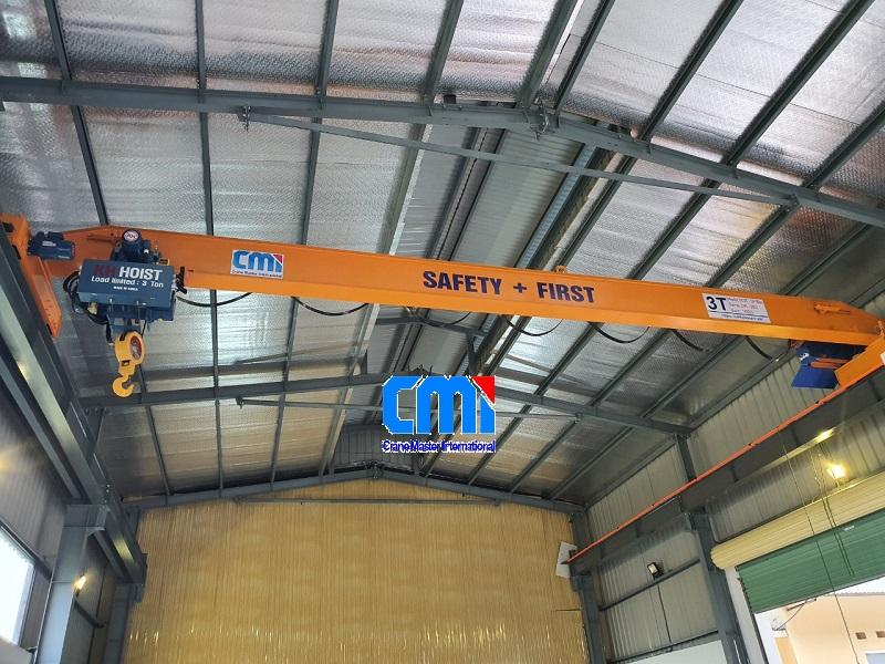 Cầu trục dầm đơn 3 tấn 10 mét