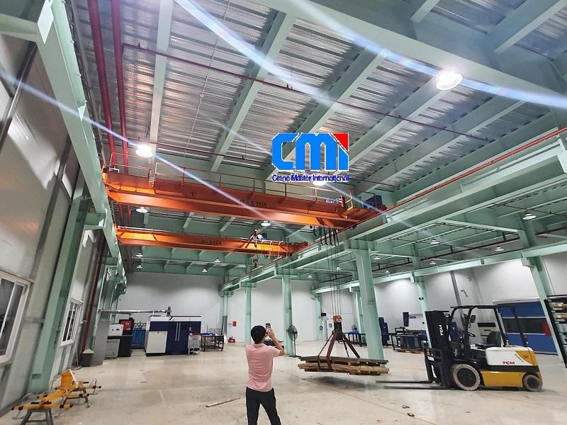 Bàn giao hệ thống cầu trục 3 tấn tại Hải Phòng